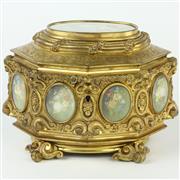 Sale 8399A - Lot 25 - Ormulu Jewellery Casket