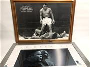 Sale 8733 - Lot 86 - Unsigned Muhammad Ali Poster