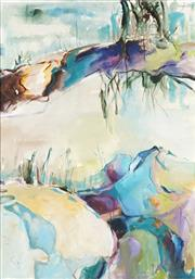 Sale 8791A - Lot 5040 - Joy Redman (1928 - 2006) - Waterscape 105 x 75cm