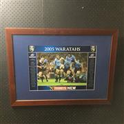 Sale 8828 - Lot 2058 - Waratahs Super 12, 2005 Grand Finalists, framed