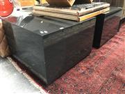 Sale 8934 - Lot 1032 - Pair of Custom Side Tables