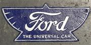 Sale 8988 - Lot 1062 - Cast Iron Ford Sign