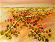 Sale 9002A - Lot 5054 - Terry Watts (1934 - ) - Outback Roads 45 x 60 cm
