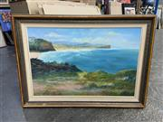 Sale 9004 - Lot 2069 - Stephen Mannix Looking Over Mona Vale Beach, oil on board, 79 x 110 cm, signed lower right