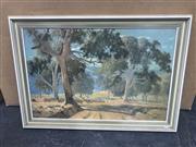 Sale 9011 - Lot 2069 - Leonard Long (1911 - 2013) Bush Track, Snowy Mountains, 1910, decorative print, 60 x 85cm -