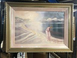 Sale 9139 - Lot 2056 - Anita Newman Restful Interlude oil on board, 49cm x 75cm