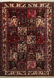 Sale 8402C - Lot 9 - Persian Bakhtiari 210cm x 145cm