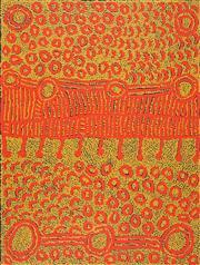 Sale 8549 - Lot 578 - Yinarupa Nangala (c1955 - ) - Ngaminya 97 x 71cm
