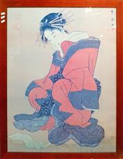 Sale 8650 - Lot 2078A - Japanese Framed Print