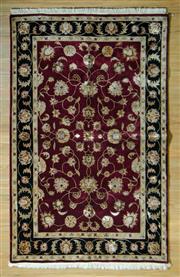 Sale 8693C - Lot 71 - Indian Silk & Wool 195cm x 121cm