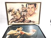 Sale 8733 - Lot 87 - Unsigned Muhammad Ali Poster