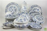 Sale 8481 - Lot 72 - Meissen Blue Onion Pattern Dinner Service
