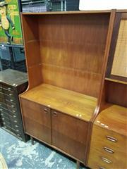 Sale 8661 - Lot 1050 - Teak Wall Unit