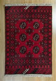 Sale 8717C - Lot 35 - Afghan Turkman 130cm x 80cm
