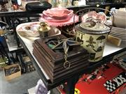 Sale 8789 - Lot 2298 - Collection of Wares incl Biscuit Tin, Jelly Moulds etc