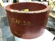 Sale 8805 - Lot 1041 - Large Timber Industrial Mould (ex Everleigh Railway Yards)