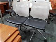 Sale 8822 - Lot 1090 - Pair of Mesh Back Desk Chairs by Vitra