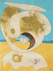Sale 8896A - Lot 5048 - Salvador Dali (1904 - 1989) - La Conquete du Cosmos I & II Series 74.5 x 55 cm