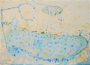 Sale 8938A - Lot 5018 - John Olsen (1928 - ) - The Bath, Early Morning 50 x 71 cm (frame: 87 x 107 x 4 cm)