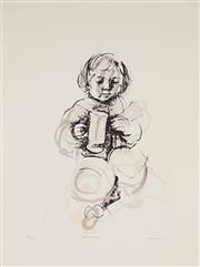 Sale 9032A - Lot 5009 - Margaret Woodward (1938 - ) - Party Time 60 x 42 cm (sheet: 76 x 56 cm)