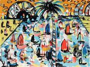Sale 8968A - Lot 5016 - Yosi Messiah (1964 - ) - Colourful Summer Time 75 x 100 cm