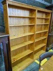 Sale 7943A - Lot 1537 - Open Double Bookshelf