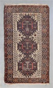 Sale 8493C - Lot 86 - Antique Persian Shiraz 85cm x 145cm