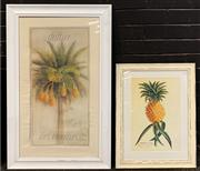 Sale 8961 - Lot 2086 - Pair of Antique Style Decorative Prints, 93 x 58cm; 66 x 44cm