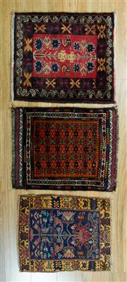 Sale 8717C - Lot 36 - 3 x Persian Baluchi 80cm x 60cm