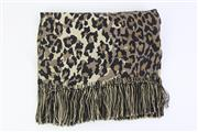 Sale 8760F - Lot 10 - An animal print silk scarf