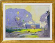 Sale 8344 - Lot 508 - Colin Parker (1941 - ) - Dad and the Kids 48.5 x 68cm