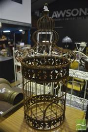 Sale 8368 - Lot 1039 - Rustic Birdcage