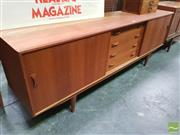 Sale 8421 - Lot 1070 - Superb Clausen Danish Teak Sideboard