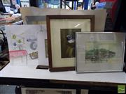 Sale 8407T - Lot 2075 - Etchings & Water Colours