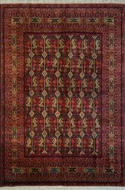 Sale 8439C - Lot 62 - Afghan Qunduzi 300cm x 200cm