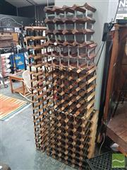 Sale 8554 - Lot 1053 - Collection of Five Varied Wine Racks