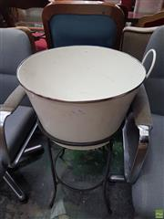 Sale 8601 - Lot 1534 - Metal Drinks Bucket on Stand