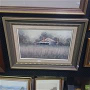 Sale 8640 - Lot 2022 - John Vander - Morning Near Coolah, Oil on Board, SLL