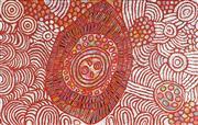 Sale 8808 - Lot 519 - Marlene Young Nungurrayi (1973 - ) - Minyma Tjukurrpa 153 x 96cm (stretched and ready to hang)