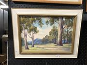 Sale 8856 - Lot 2094 - D Desales - Pastoral Scene, oil, SLR