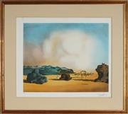 Sale 8888 - Lot 2021 - After Salvador Dali (1904 - 1989) - Moment of Transition 46.5 x 57.5 cm