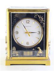 Sale 8989 - Lot 26 - Jaeger LeCoultre Atmos Clock (H22cm)