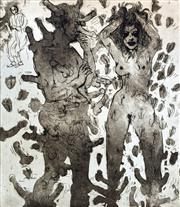 Sale 8996A - Lot 5032 - Paul Ashton Delprat (1942 - ) - The Four Wishes of St Martin, 1978 49.5 x 46.5 cm