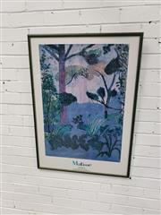 Sale 9091 - Lot 2061 - Framed Henry Matisse Print (100 x 72cm)