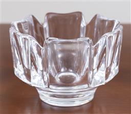 Sale 9140H - Lot 34 - An Orrefors crystal bowl, Diameter 11.5cm