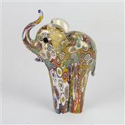 Sale 8396A - Lot 20 - Millefiori Art Glass Elephant