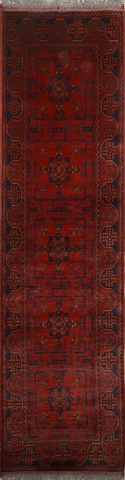 Sale 8402C - Lot 12 - Afghan Khal Mohamadi 300cm x 80cm