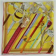 Sale 8413 - Lot 88 - Hermes Silk Scarf Concours DEtriers
