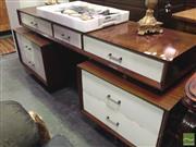 Sale 8412 - Lot 1043 - Kafka Style Seven Drawer Dresser