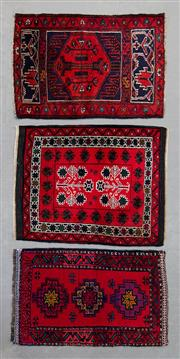 Sale 8493C - Lot 89 - 3 x Antique Doormats 57cm x 77cm